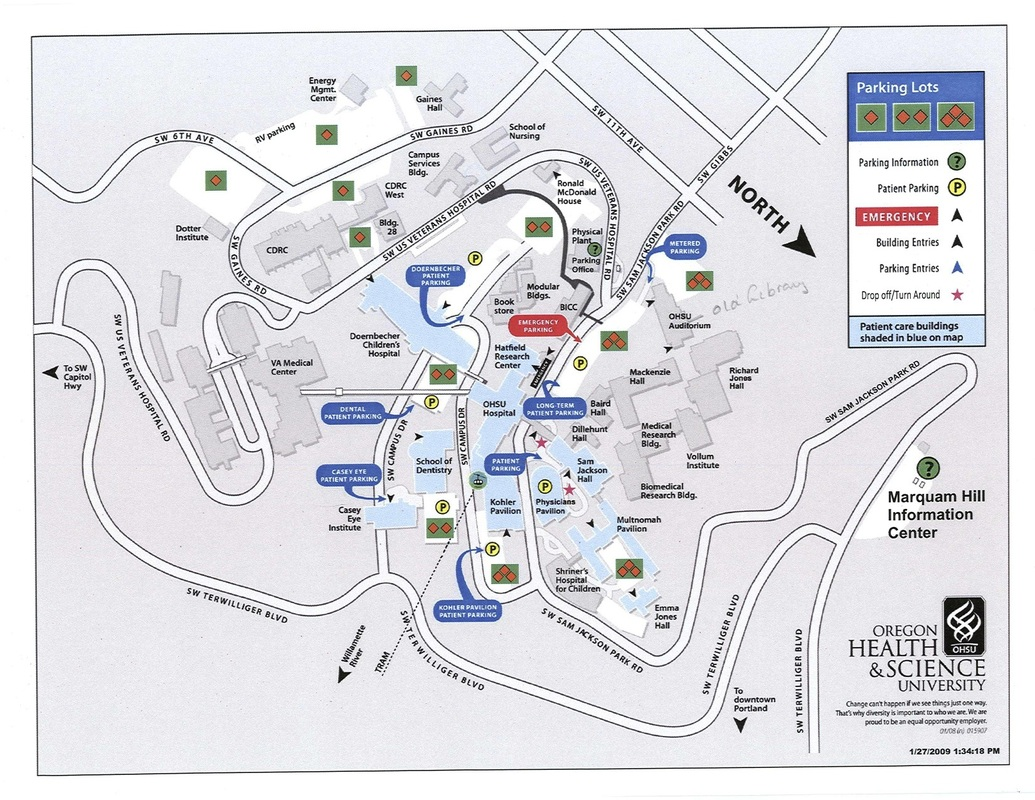 Ohsu Campus Map ann arbor zip code map new port richey map